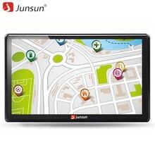 Junsun 7 pouce HD Voiture GPS Navigation FM Bluetooth AVIN Europe Carte Mise À Jour Gratuite Sat nav Automobile Gps Navigateurs