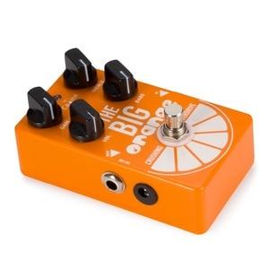Image 5 - Pedal de guitarra Caline CP 54 OD, Overdrive, gran trituración naranja, Pedal de efectos de guitarra overdrive, efecto Bypass verdadero