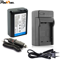 1 шт. НП-fw50 батарея НП fw50 для Сони камера + евро/автомобиля кабель зарядное устройство для Сони Альфа 7р второй Некс-5 Некс-7 СЛТ-А55 А55 a5000 A3000 у
