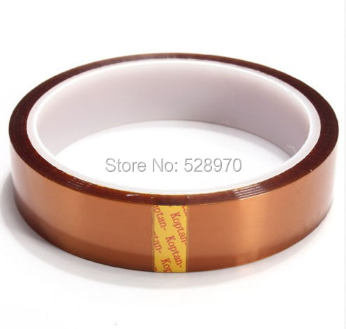 20mm X 33m 100Ft 2cm width High Temperature Resistant Tape Heat Dedicated Tape for BGA PCB