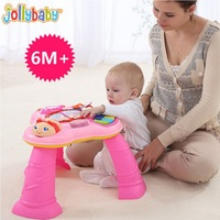 Sozzy Baby Toy Multifunction Music Table Early Education Learn Language Chairs Toys Explore Activity Interest Table Play Games