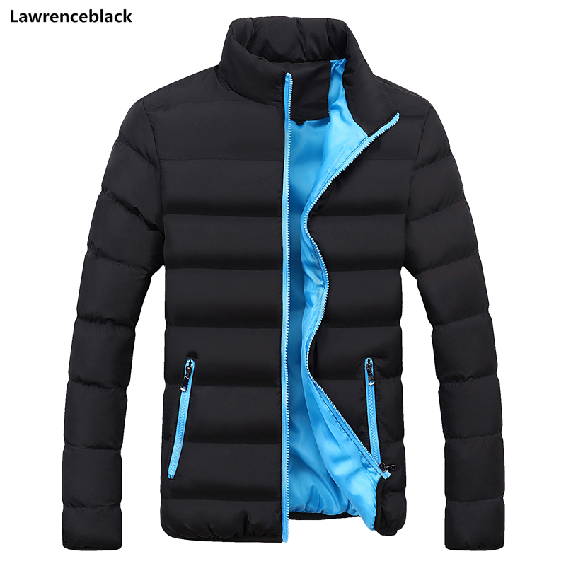 Thickening Winter Jackets Mens   Parka   Casual Zipper Coats Warm Men's windbreakers clothes Cotton-Padded Overcoat Outerwear 1593