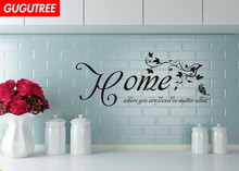 Decorate flower home letter art wall sticker decoration Decals mural painting Removable Decor Wallpaper LF-1952