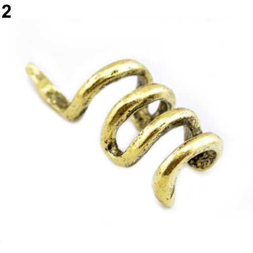 Women Fashion Unique Mini Snake Shape Cuff Ear Clip Punk Earring Jewelry Stud Earrings for Women drop shipping price