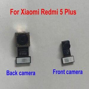 Image 2 - Cable flexible para cámara trasera de Xiaomi Redmi Note 5, repuesto de cámara trasera principal grande y frontal, Original