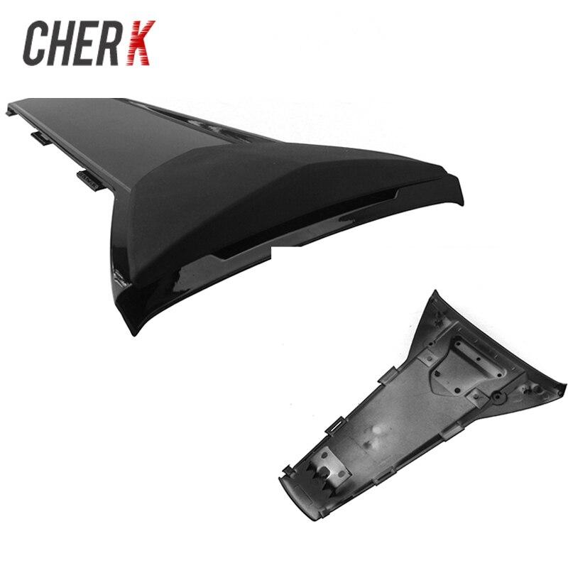Cherk moto noir en plastique siège arrière Section de carrosserie couverture carénage capot CBR 650 F/CB 650F 2014 2015 2016 2017