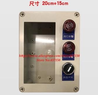 4-20MA датчик уровня жидкости Датчик уровня воды дисплей инструмент/луч цифровой дисплей контроль инструмент уровень передатчик - Цвет: install box