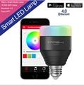 E27 MIPOW 5 Вт Playbulb Bluetooth 4.0 Смарт Лампы СВЕТОДИОДНЫЕ Wake Up Light RGB Смартфон App Контролируемых Затемнения Цвет Смарт освещение