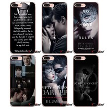 50 Fifty Shades Of Grey Sex Soft Transparent Covers For Xiaomi Mi A1 Max