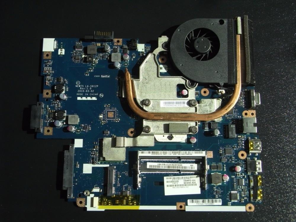 MBbl002001 материнская плата для Acer Aspire 5551 LA-5912P с радиатором вместо 5552 г LA-5911P совместимость и Бесплатная Процессор