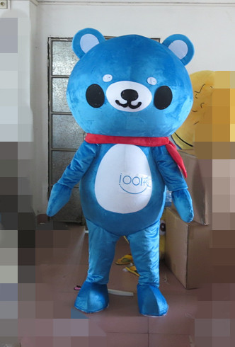 Customade Dolphin Cosplay high quality fancy dress Mascot Costume animal blue