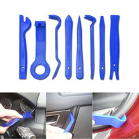 Quality 13pcs Trim Removal Tool Set Hand Pry Bar Panel Door Interior Clip Remover Car Dashboard