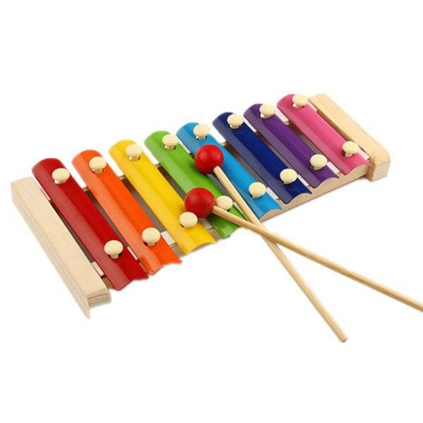 Mylb Детские перкуссий игрушка мудрость развития Деревянный инструмент улучшить ребенком чувствительны к Цвета Су
