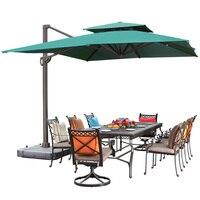 Sol ao ar livre guarda-chuva pátio guarda-chuva grande terraço jardim ao ar livre sol guarda-chuva romano guarda-chuva quadrado