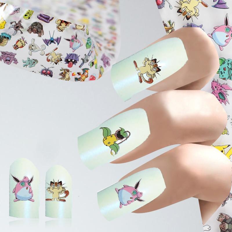 1 шт., 4*100 см, мультяшный дизайн, сделай сам, фольга для ногтей, мышь, модные наклейки для девочек, клей, маникюр, сделай сам, украшение, бумага д...