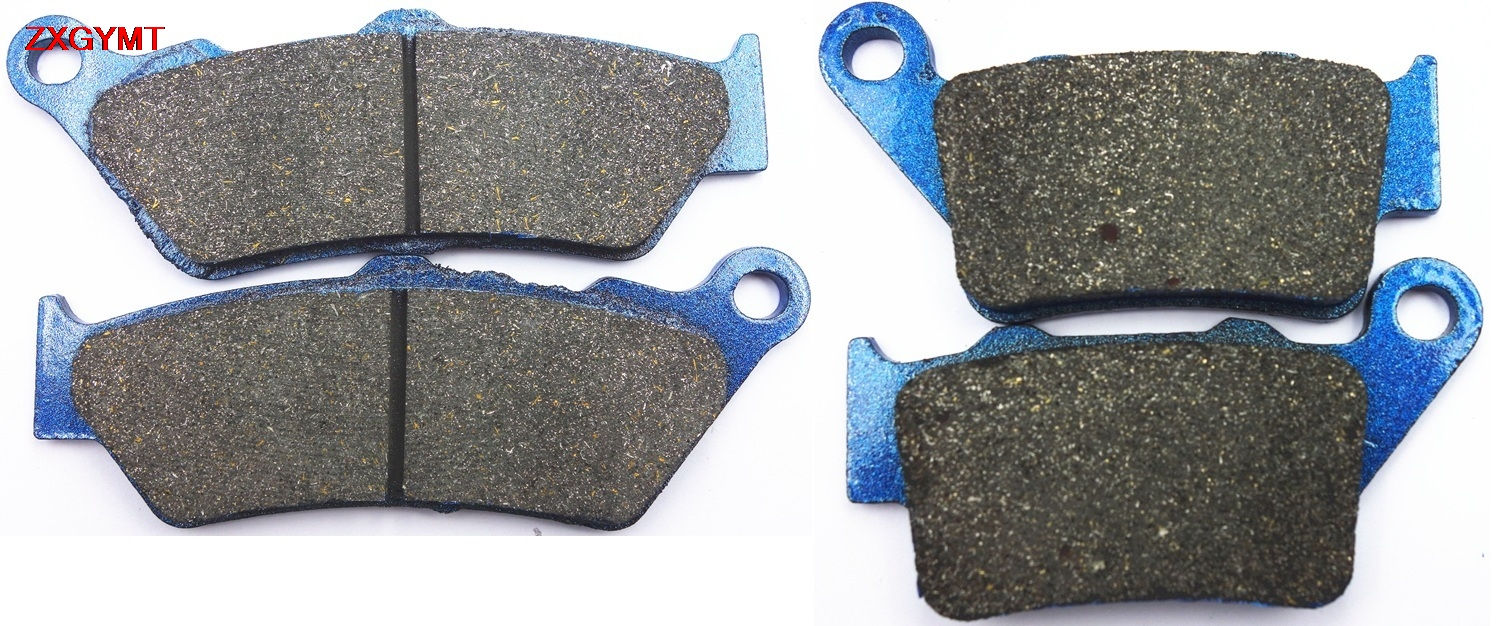 Sinter HH Brake Pads Set fit BMW G 650 G650 Xcountry 2006 - 2009 Front Rear 09 06 08 07(China)