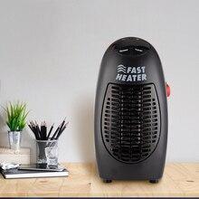 400 Вт мини-тепловентилятор настенный Электрический обогреватель печки радиатор обогреватель бытовой комнаты Обогреватель Вентилятор машина для зимы