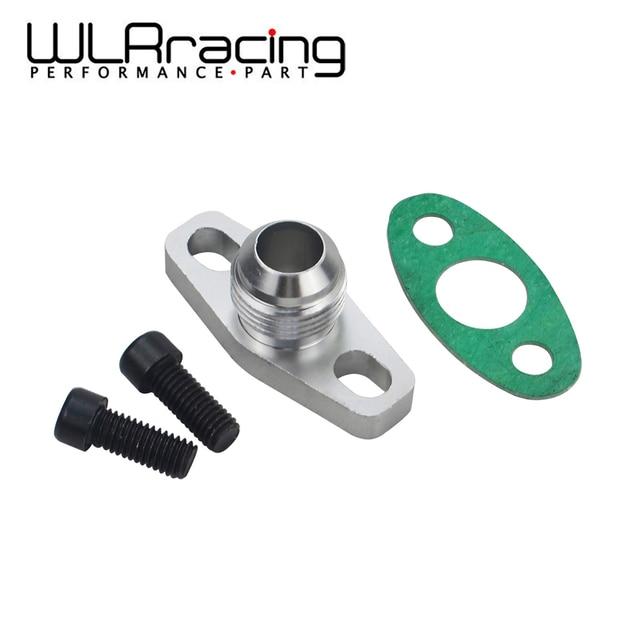 WLR RACING - Turbo Oil Return/Drain Flange Adapter AN10 For GT28 GT30 GT35 T25 WLR-OFG34