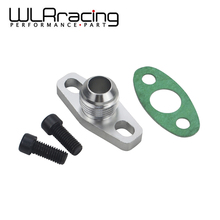 WLR RACING - Turbo Oil Return/Drain Flange Adapter AN10 For