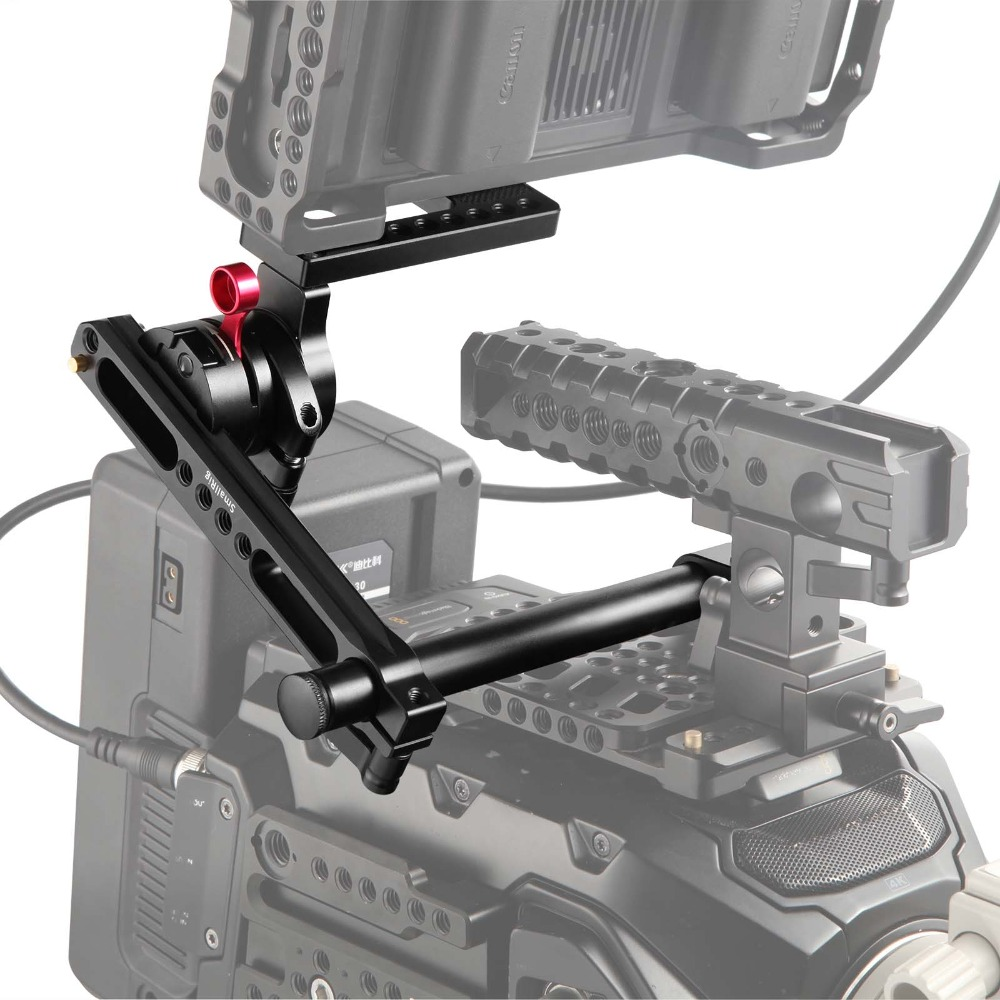 Image 4 - SmallRig DSLR Camera EVF Mount with NATO Rail Adjustable 1903-in Tripod Monopods from Consumer Electronics