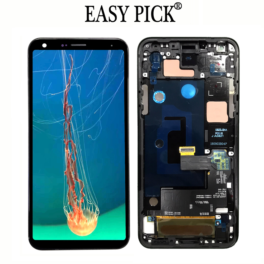 For LG Q7 Plus Q7+ Q610MA Q610TA Q610YB CV5A Q610EA MT6750S Q610FS Q610NM LCD Display Touch Screen Digitizer AssemblyFor LG Q7 Plus Q7+ Q610MA Q610TA Q610YB CV5A Q610EA MT6750S Q610FS Q610NM LCD Display Touch Screen Digitizer Assembly