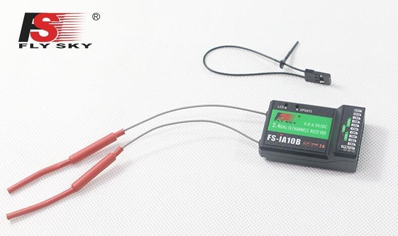 Émetteur Original de FS-i6X de Flysky 10CH 2.4 GHz AFHDS 2A RC avec le récepteur FS-iA6B FS-iA10B de FS-X6B de FS-A8S pour le Mode 2 d'avion de Rc - 6
