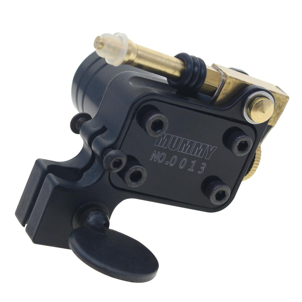 Rotary Tattoo Machine Gun Japan Motor Brass Frame black