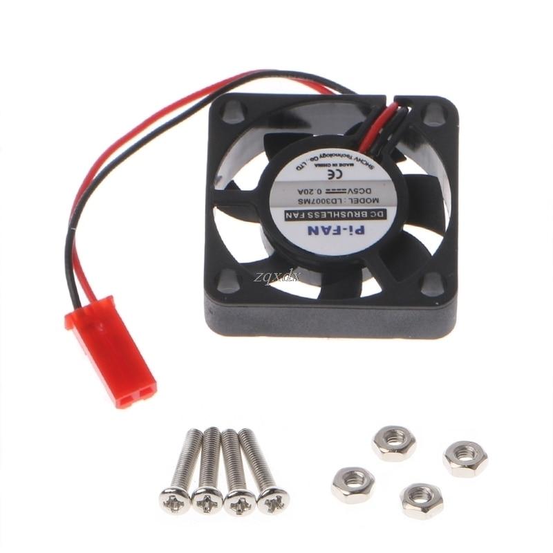 Cooling Cooler Fan for Raspberry Pi Model B+ Raspberry Pi 2//3 5V 0.2A