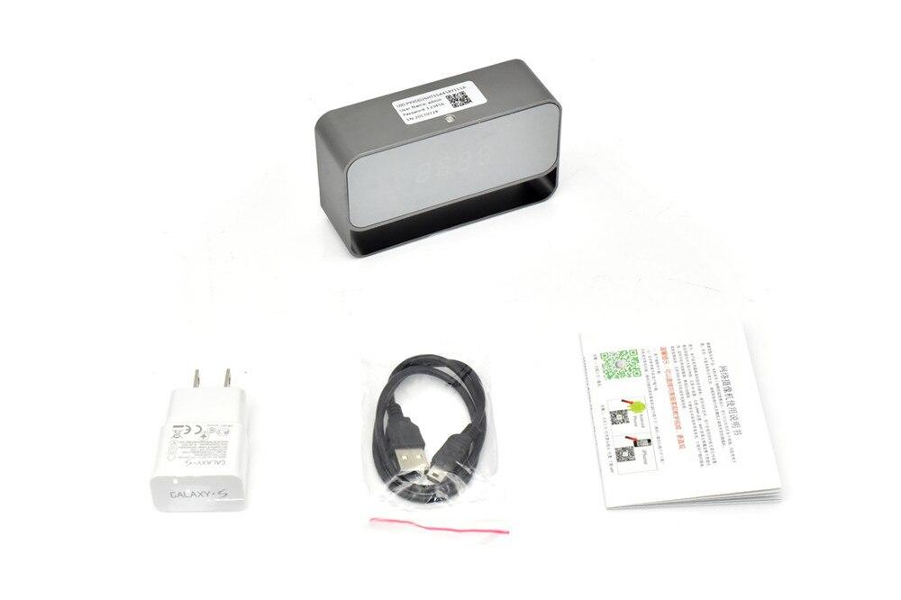 WIFI Mini Camera 1080P Time Alarm CCTV Home Security Clock Wireless Nanny IP Camera P2P IR light Night Vision Motion Detection (8)