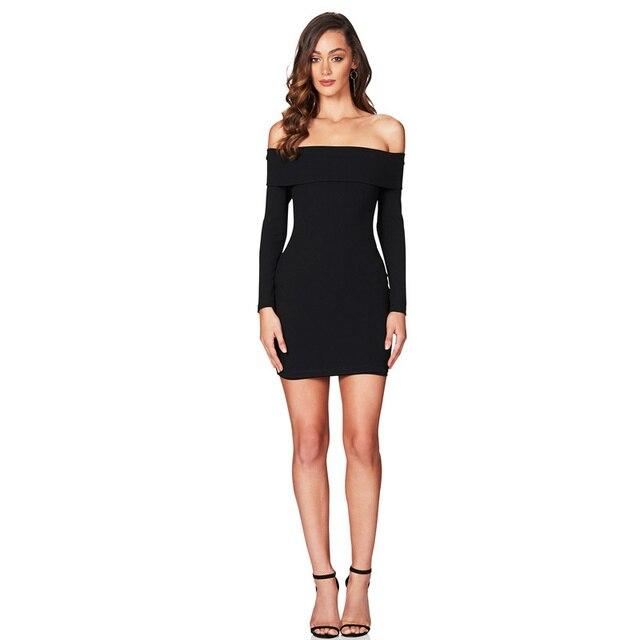 Fotos de vestidos negro con blanco