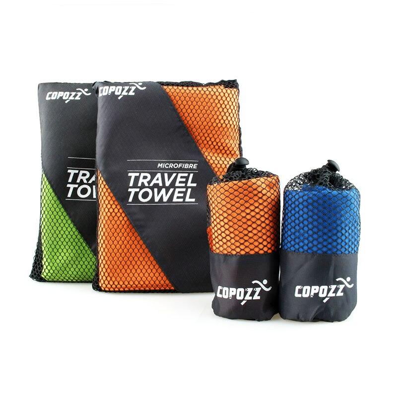Rapide sec serviettes de bain microfibre piscine extérieure camping cyclisme de bain portable sport gym voyage serviette Taille S (40*79 cm)