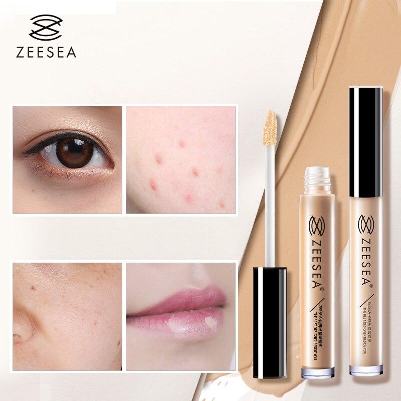 Cobertura completa de Maquiagem Líquido Corretivo Olho Olheiras Corretivo Base de Maquiagem À Prova D' Água Cosméticos Poros Ilumine Corretivo Líquido