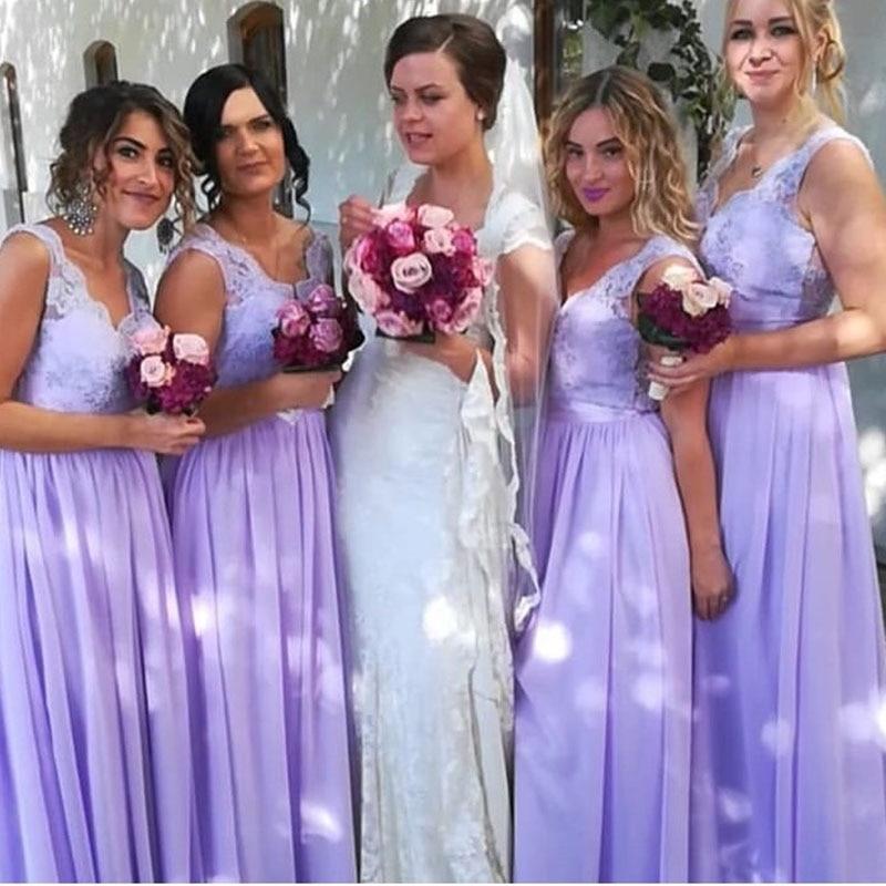 Detail Feedback Questions about lamiabridal Chiffon Lavender ... 6586b6a37f60