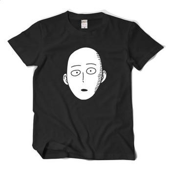 New One Punch Man Saitama cosplay t-shirt Cartoon Cool Men tshirt Women Cotton Loose Short-sleeve Tees tops 1