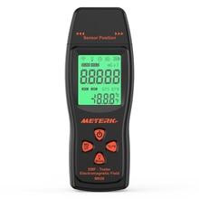 EMF מד כף יד מיני דיגיטלי LCD EMF גלאי קרינת שדה האלקטרומגנטי Tester Dosimeter בודק דלפק