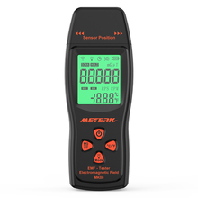 EMF Mini compteur numérique à écran LCD portable, détecteur EMF, de champ électromagnétique, testeur de radiations, dosimètre, compteur
