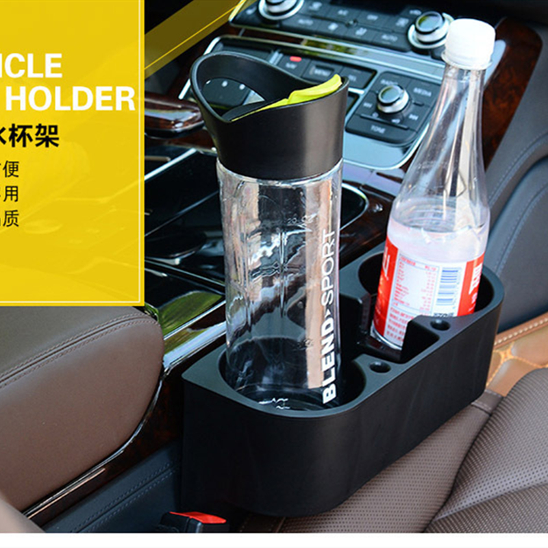 Купить с кэшбэком EDBETOS Car Holder Auto Interior Trunk Organizer Storage Portable Vehicle Seat Gap Cup Bottle Phone Drink Pen Holder Stand Boxes