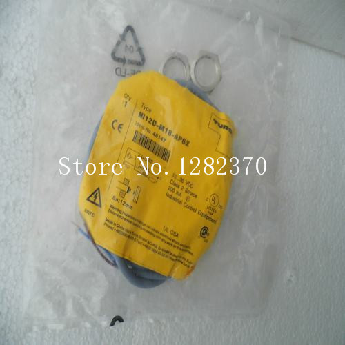 цена на [SA] New original authentic special sales TURCK sensor switch NI12U-M18-AP6X spot --5PCS/LOT