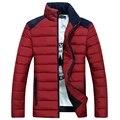 2016 de invierno nueva ropa de Los Hombres wadded collar del soporte de abajo de algodón acolchado chaqueta más el tamaño delgado de algodón acolchado ropa de abrigo masculino