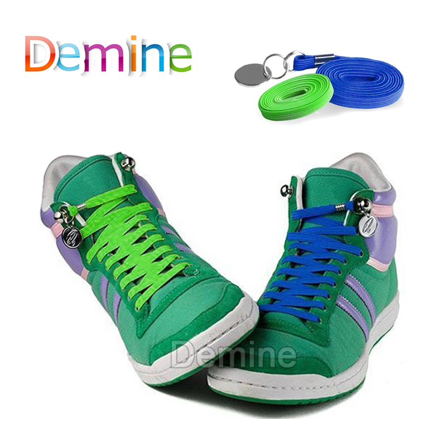 Demine Elastic Shoelaces For Men Women Sneaker Sport Running Shoes No Tie Special Shoe Laces Lazy Lacing Shoestring Dropshipping