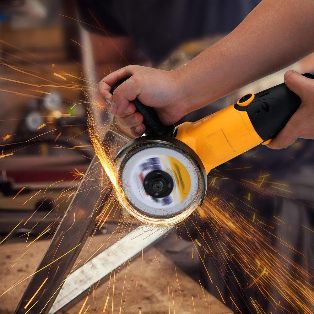 High Quality Electric Angle Grinder Tool 115mm Electric Angler Sander Wheel Grinder Tool Household Polishing Machine