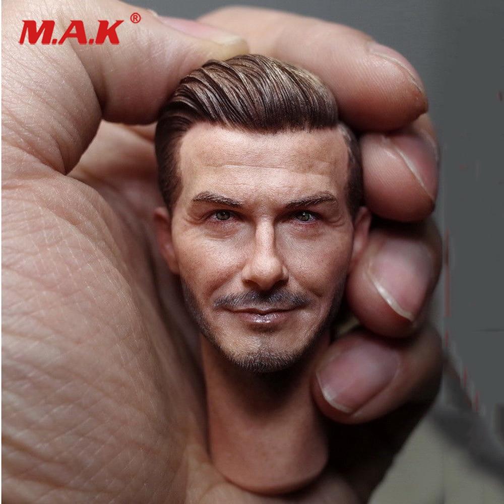 "1//6 Scale David Beckham Head Sculpt Fit For 12/"" Action Figure Body"