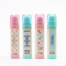 cute 3 layer eraser Kawaii Heart Flower Rubber pencil Erasers for Kids Gift 1pcs Student stationery