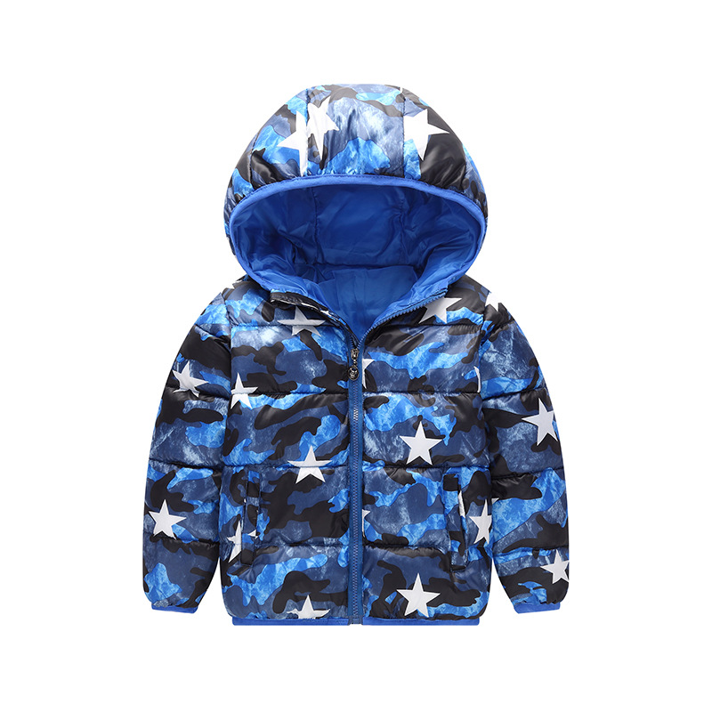 2017 boys Girls outerwear Down winter Hooded baby Jacket Kids Coat children's clothing Thick Down & Parkas 12M-6T Years baby boys girls cotton padded clothes thick outerwear 2017 new winter kids hooded down parkas plaid casual jacket coat child top