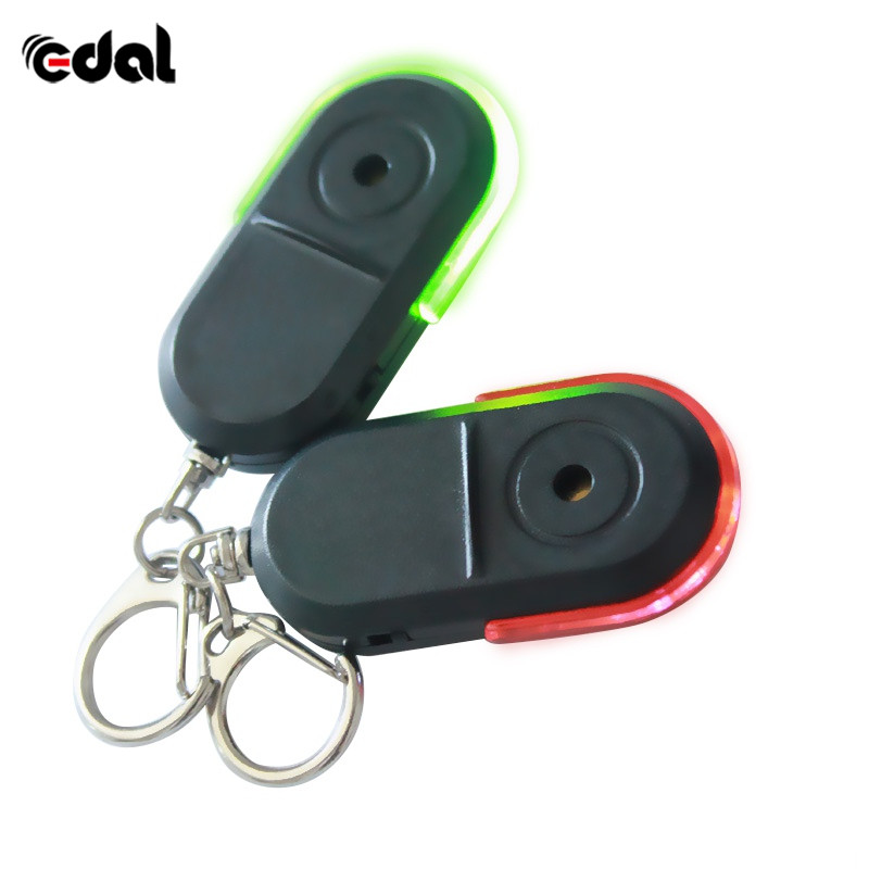 New Wireless Anti-Lost Alarm Key Finder Locator Whistle Sound LED Light Things Tracker Keychain 10pc twist drill bits set spiral hand drill semi automatic pin vise keyless chuck jewelry walnut manual drilling hole carving