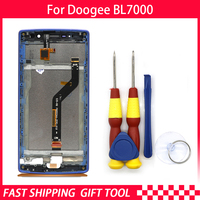 New original For DOOGEE BL7000 Touch Screen LCD Display Digitizer Assembly With Frame Replacement Parts+Tool