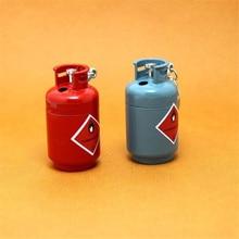 цена на 2018 Creative Compact Jet Butane Gasoline Gas tank lighter