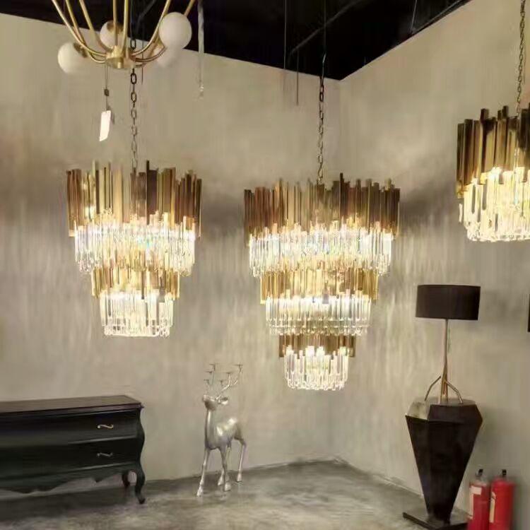 exemplo de villa de luxo moderno e moderno hotel composto designer de - Iluminação interior - Foto 3