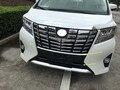 Für 2016 2017 2018 Toyota üppigkeit Edition Alphard ABS Chrome Frontschürze Skid Schutz schutz platte trim streifen-in Chrom-Styling aus Kraftfahrzeuge und Motorräder bei