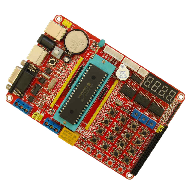 Sided board 5CM * 7CM universal board PIC18F4520 development board PIC  learning board experimental boardboard pic microcontroller development board the experimental board pic18f4520 including pickit2 programmers excluding books